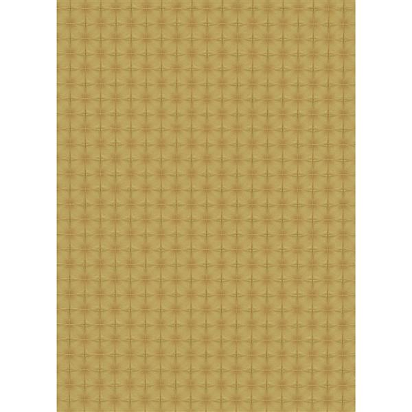"Lavish Futuristic Wallpaper Roll - 21"" - Yellow"