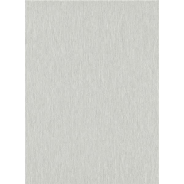 Erismann Lavish Futuristic Wallpaper Roll - 21-in - Gray