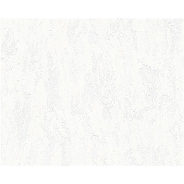 A.S. Creation Textile Look Wallpaper Roll - 21 -in - Cream