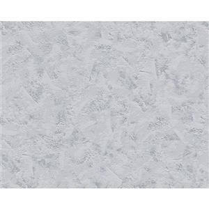A.S. Creation Textile Look Wallpaper Roll - 21 -in - Light Gray