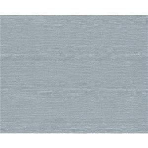 A.S. Creation Textile Look Wallpaper Roll - 21 -in - Light Blue