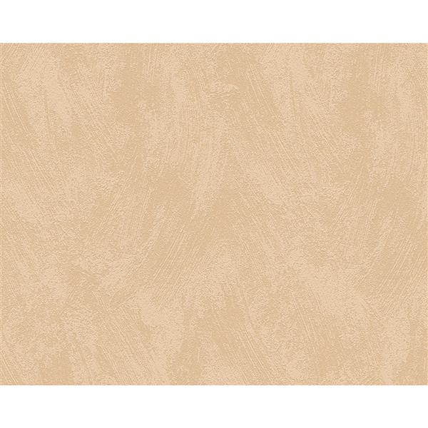 A.S. Creation Textile Look Wallpaper Roll - 21 -in - Beige