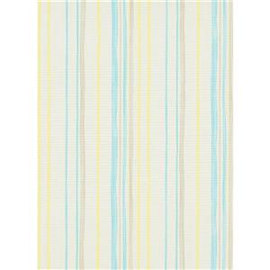 Erismann Childs Kids Wallpaper Roll - 21-in - Vanilla/ Yellow