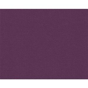 A.S. Creation Textile Flower Wallpaper Roll - 21 -in - Violet