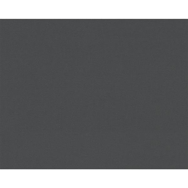 A.S. Creation Textile Flower Wallpaper Roll - 21 -in - Gray