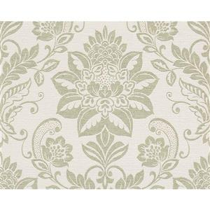 Textile Flower Wallpaper Roll - 21