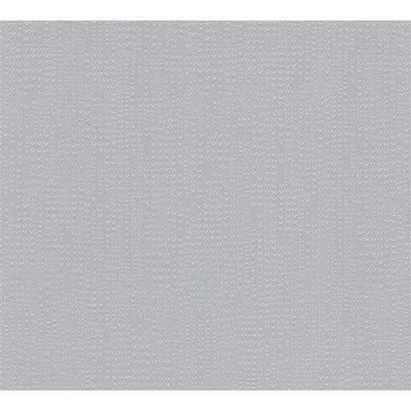 A.S. Creation Moments Collection Wallpaper Roll - 21-in - Light Grey