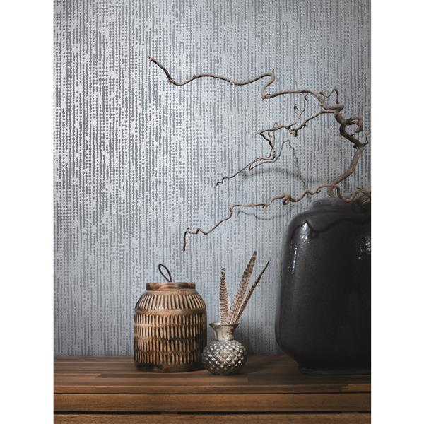 A.S. Creation Moments Collection Wallpaper Roll - 21-in - Grey