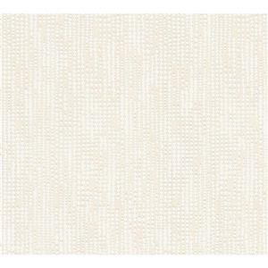 A.S. Creation Baroque Motifs Wallpaper Roll - 21 -in - Cream/ Metallic
