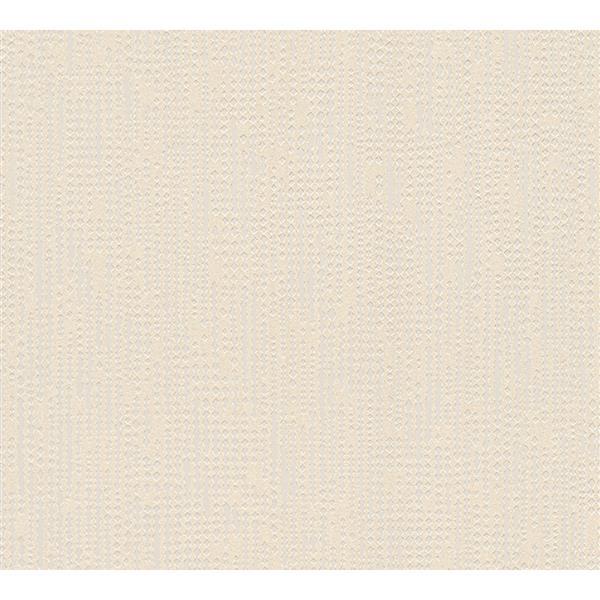 A.S. Creation Baroque Motifs Wallpaper Roll - 21-in - Beige/ Metallic