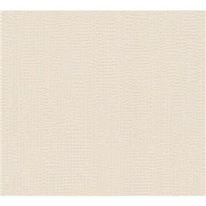 A.S. Creation Baroque Motifs Wallpaper Roll - 21 -in - Beige/ Metallic