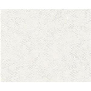 A.S. Creation Urban Graphic Wallpaper Roll - 21 -in - White/ Cream