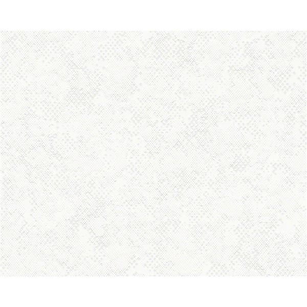 "Urban Graphic Wallpaper Roll - 21"" - White"