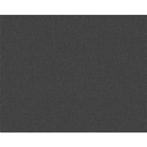 A.S. Creation Metropolis 2 Wallpaper Roll - 21-in - Dark Grey
