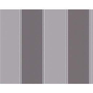 A.S. Creation Metropolis 2 Wallpaper Roll - 21-in - Grey