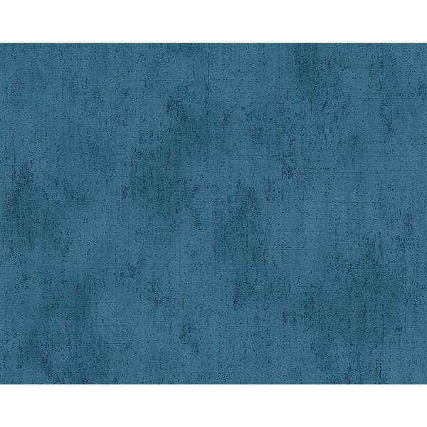 A.S. Creation Metropolis 2 Wallpaper Roll - 21-in - Blue