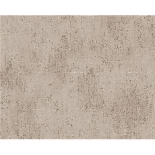 A.S. Creation Metropolis 2 Wallpaper Roll - 21-in - Beige