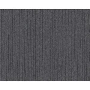A.S. Creation Metropolis 2 Wallpaper Roll - 21-in - Stripes - Grey