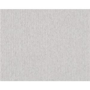 A.S. Creation Metropolis 2 Wallpaper Roll - 21-in - Beige/Grey