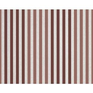A.S. Creation Metropolis 2 Wallpaper Roll - 21-in - Brown/Cream