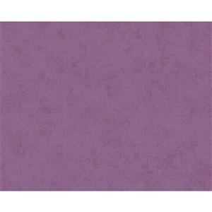 A.S. Creation Romantic Cottage Wallpaper Roll - 21-in - Violet
