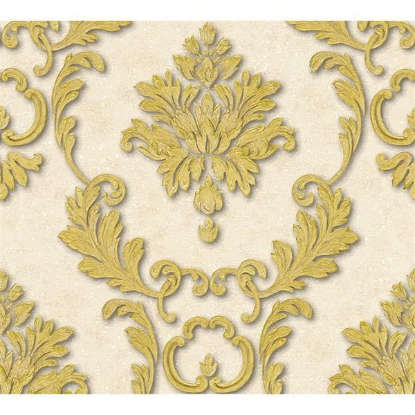 "A High Quality Ensemble Wallpaper Roll - 21"" - Gold"