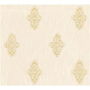A.S. Creation High Quality Textured Wallpaper Roll - 21-in - Gold