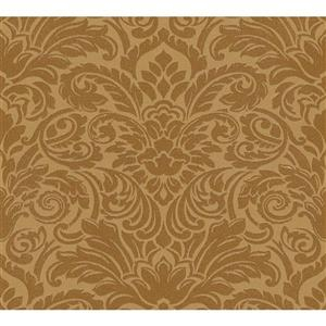 A.S. Creation Ensemble Damask Wallpaper Roll - 21-in - Gold