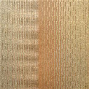 design id Kristal Wallpaper Roll - 21-in - Beige/orange