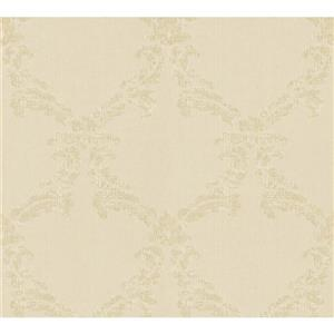 A.S. Creation Haute couture 3 Wallpaper Roll - 21 -in - Cream