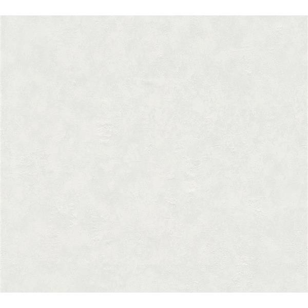 A.S. Creation Felicia Collection Wallpaper Roll - 21-in - Cloudy White