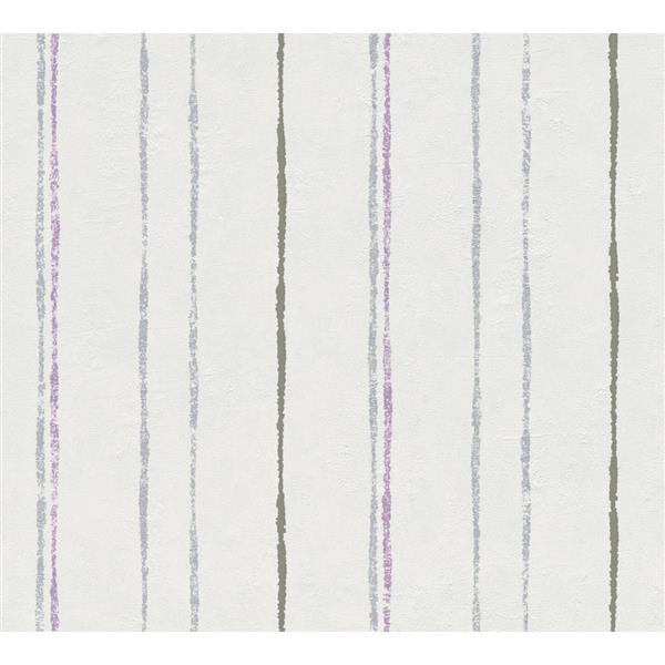 """Felicia Wallpaper Roll - 21"""" - Gray"""