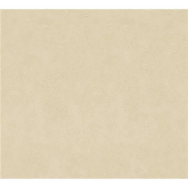 A.S. Creation Felicia Collection Wallpaper Roll - 21-in - Plain Pattern - Beige
