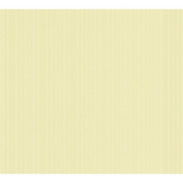 A.S. Creation Esprit 8 Wallpaper Roll - 21-in - Textural Effect - Light Yellow