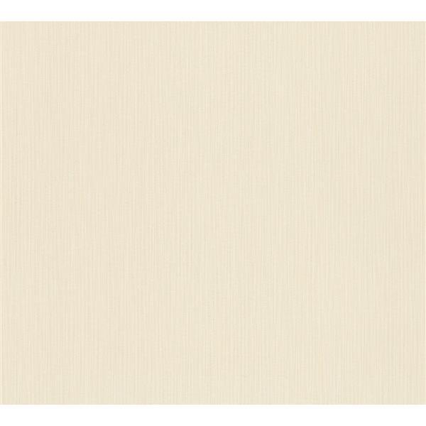 A.S. Creation Esprit 8 Wallpaper Roll - 21-in - Linen Design - Cream