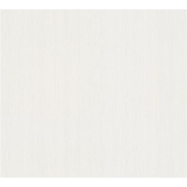 A.S. Creation Esprit 8 Wallpaper Roll - 21-in - Plain Pattern - Off-White