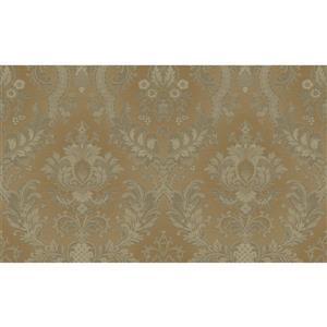 design id Goodwood Wallpaper Roll - 21-in - Brown