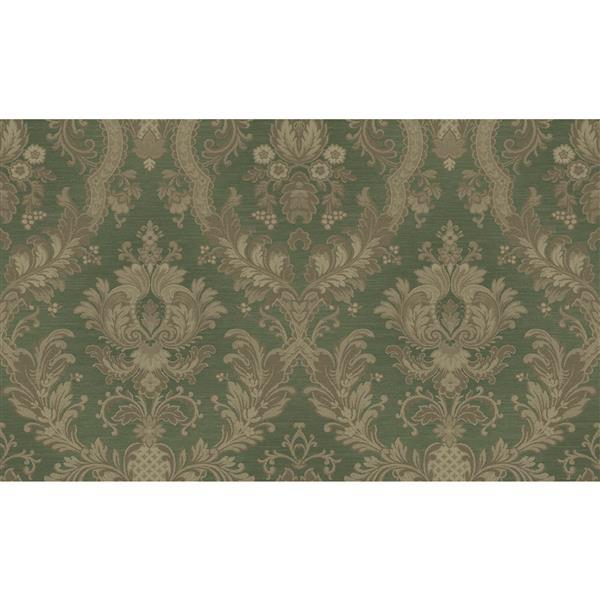 design id Goodwood Wallpaper Roll - 21-in - Green