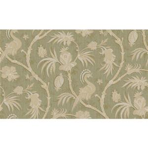 design id Goodwood Wallpaper Roll - 21-in - Light Green