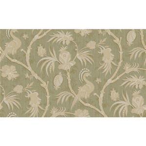 design id Goodwood Wallpaper Roll - 21-in - Light Green