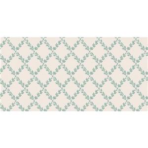 design id Goodwood Wallpaper Roll - 21-in - Cream