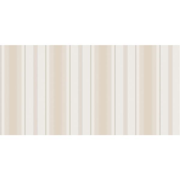 design id Goodwood Wallpaper Roll - 21-in - Cream/Beige