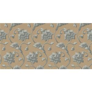design id Goodwood Wallpaper Roll - 21-in - Brown