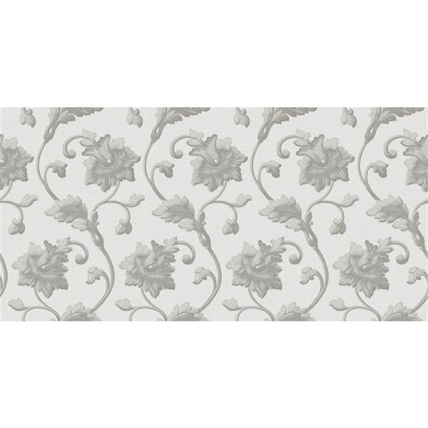 design id Goodwood Wallpaper Roll - 21-in - White