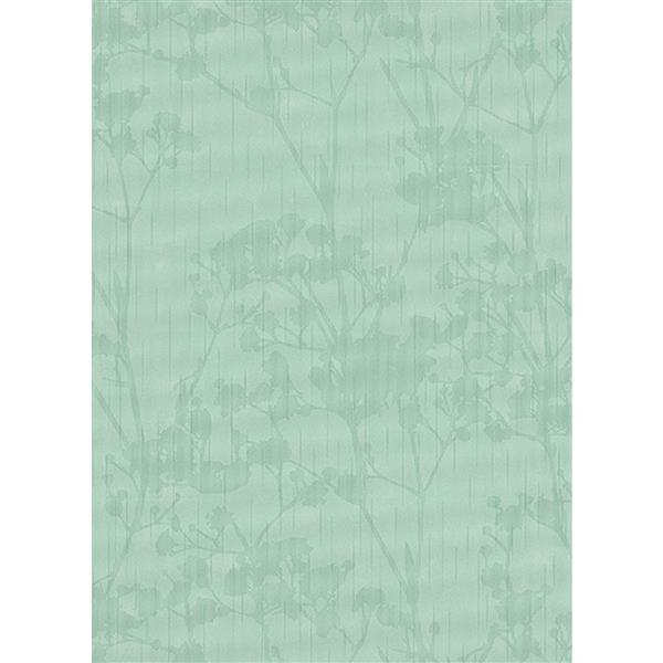 Erismann Glossy Wallpaper Roll - 21-in - Green
