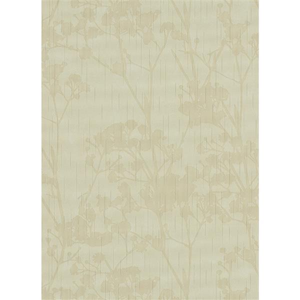 Erismann Glossy Wallpaper Roll - 21-in - Light Green