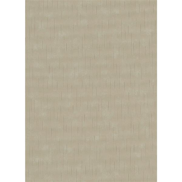 Erismann Glossy Wallpaper Roll - 21-in - Beige/Gray
