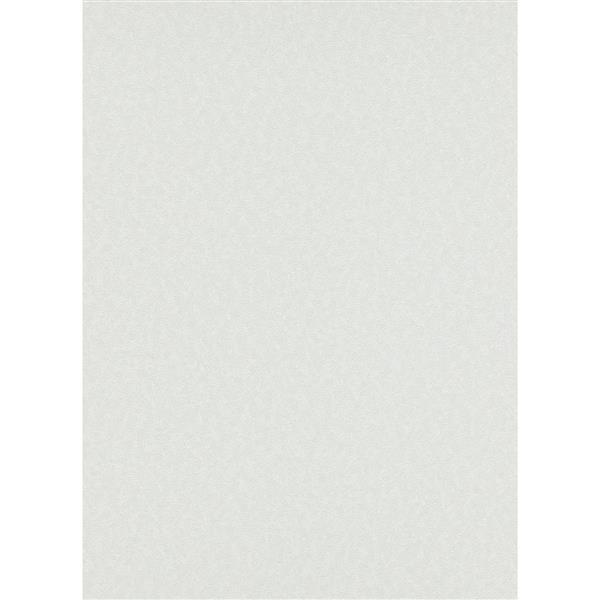 Erismann Eterna Wallpaper Roll - 21-in - White