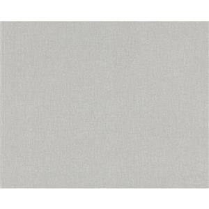 A.S. Creation Elegance 2 Wallpaper Roll - 21-in - Linen Design - Grey