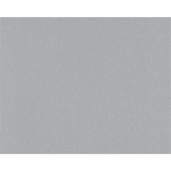 A.S. Creation Elegance 2 Wallpaper Roll - 21-in - Blue Grey
